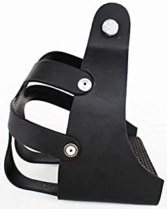 CHALLENGER Horse Saddle Western Endurance Safety Caged Lightweight Stirrups 51159