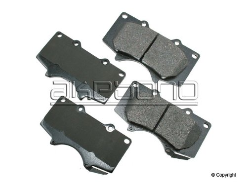 Brake Pad Shim Set - Akebono ACT976 ProACT Ultra-Premium Ceramic Brake Pad Set