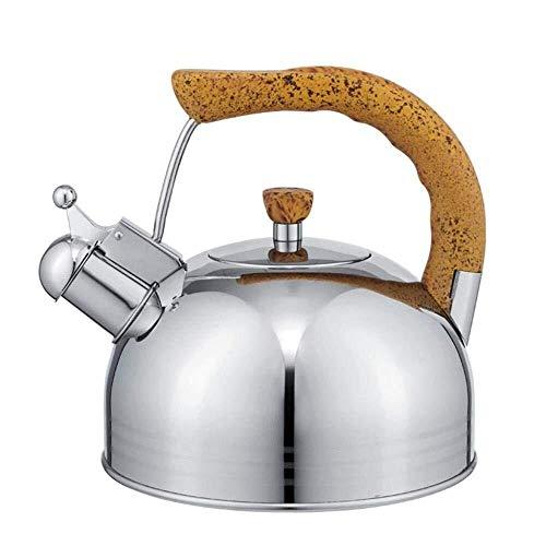 Theiere Tea - Théière En Acier Inoxydable 304, Coffee Kettle Pot Anti-scalding Handle Water Boiler For Your Home 5L TA (Size : 5L)