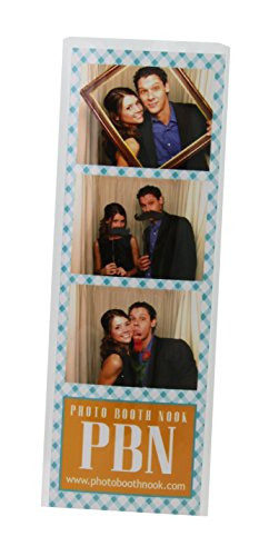 100 Photo Booth Bookmark Sleeve Strip Protectors for 2 X 6 Pictures