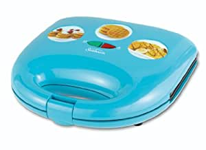 Sunbeam CKSBWFMW30 Mini Waffle Maker, Blue