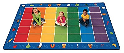 Carpets for Kids Fun with Phonics Seating Rug