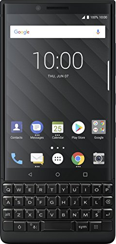 BlackBerry KEY2 Black Unlocked GSM Android Smartphone 4G LTE, 64GB (Blackberries Phones)