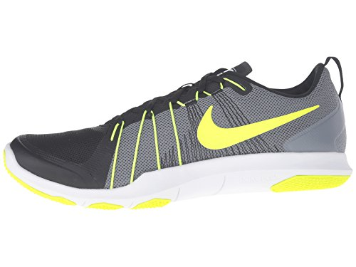 Nike Heren Flex Trein Gem Training Schoen Koel Grijs / Volt / Zwart / Wit