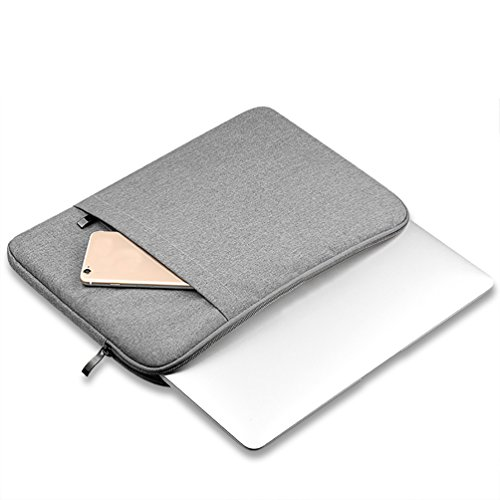 YiJee Funda Protectora Antigolpes Ordenador Bolso para Portátil Laptop Tableta 13 Pulgada Gris