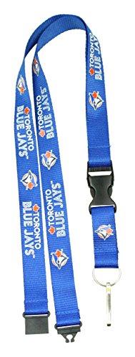 - MLB Toronto Blue Jays Team Color Lanyard, 22-inches, Blue