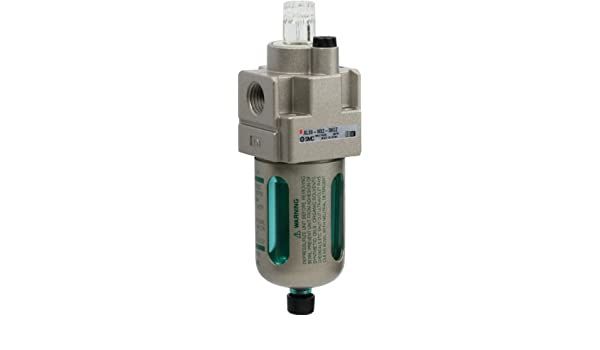 Nylon Bowl with Bowl Guard SMC AL20-N02-6CZ Lubricator without Drain Cock 15 L//min Dripping Flow Rate 25 mL Oil Capacity 1//4 NPT