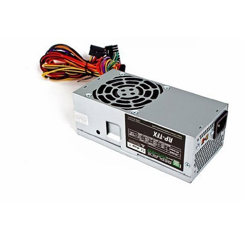 350 Watt 350W TFX Power Supply Upgrade Replacement for HP 504966-001, Bestec TFX0220D5WA, TFX0250D5W, AcBel PC8046, DELTA DPS-250AB-28 B, HP Slimline S5000, s5213w, NY646AA, NY469AA, s5120y, KY818AA, s5220f, NY542AA, s5212y, VT493AA, Compaq Presario CQ4010F, NY650AA PCI-Express SATA (Hp Pavilion Supply Power Slimline)