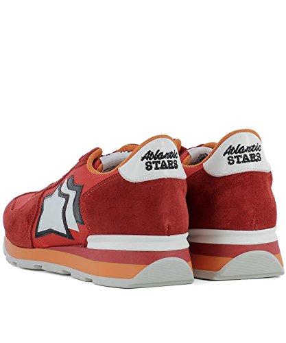 Herren Sneakers Rot Stoff ANTARESFR85B Atlantic Stars 6wX7F