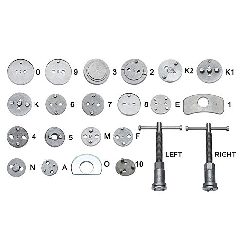 YOUNGFLY 22Pcs Disc Caliper Brake Piston Rewind Tool Kit Set Wind Back Car Auto Universal by YOUNGFLY (Image #2)