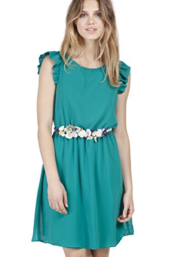 POETE Diana, Vestido para Mujer Verde