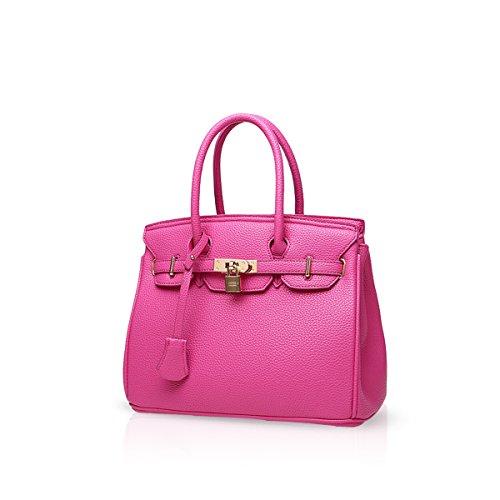 Ladies Handle amp;Doris Bag Pink Bag Leather for Handbags Crossbody Orange Shoulder PU Satchel Women Nicole Top Tote a7gYtnn