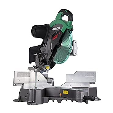 Hitachi C12RSH2 15-Amp 12 Dual Bevel Sliding Compound Miter Saw with Laser Marker