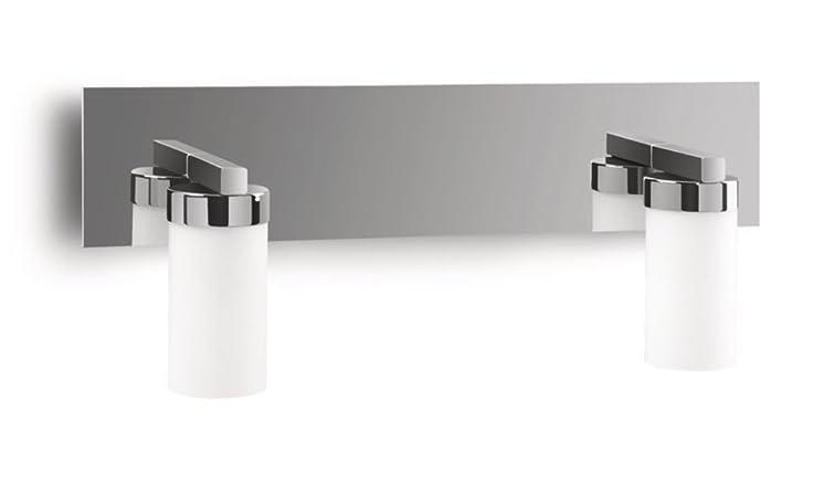 amazon uk bathroom wall lights. philips mybathroom aloe bathroom wall light chrome (includes 2 x 42 watts e14 bulb) amazon uk lights m