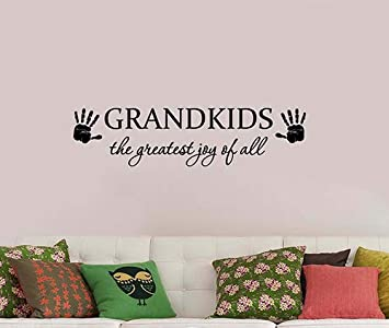 wall sticker, Vinyl Decal Sticker Art The greatest joy in Life wall quote Wall Words Wall decal Graphic