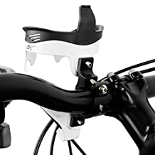 BV Bicycle Black Metal Water Bottle Cage Adapter Mount for Handlebars-Hydration Bar for Bike Cage Holder, Cycling Outdoors,-D01