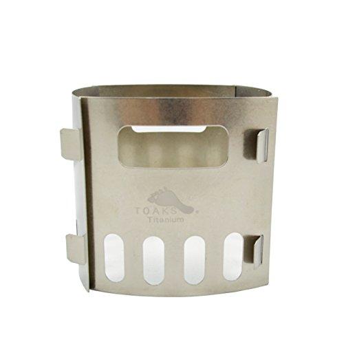 TOAKS Titanium Alcohol Stove Pot (Alcohol Stove Pot Stand)