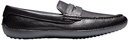 Haan Cole Men's Penny Leather Black Loafer MOTOGRAND ddrqxw7z
