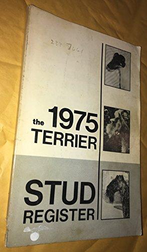 1975 Terrier Stud Register