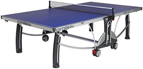 Cornilleau - Mesa de Ping Pong para Exteriores (500 m) Azul Azul: Amazon.es: Deportes y aire libre