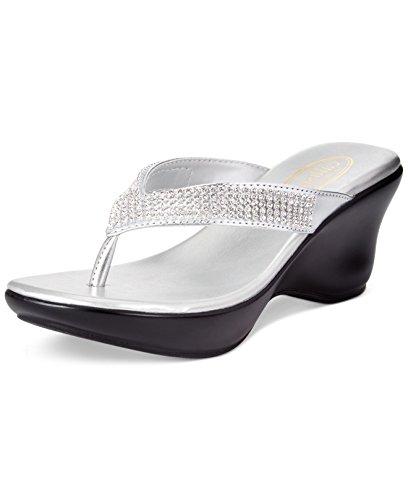 Callisto - Sandalias de vestir para mujer plata