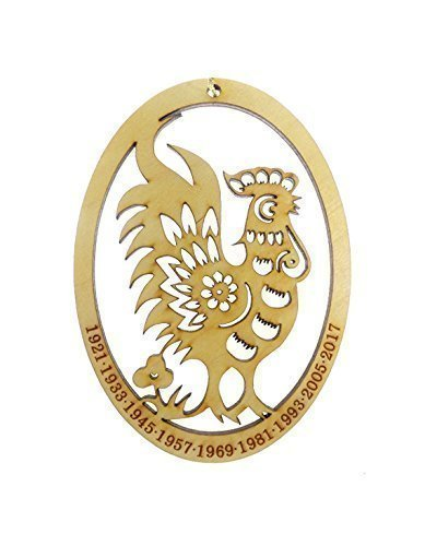 Chinese Zodiac Rooster Ornament - Year of the Rooster Ornament
