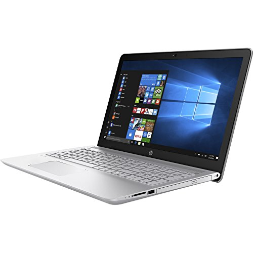 HP Pavilion 15-inch Laptop, Intel Core i5-7200U, 8GB RAM, 1TB hard drive, Windows 10 (15-cc010nr, Silver)