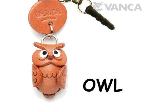 Owl Leather Animal Earphone Jack Accessory / Dust Plug / ...