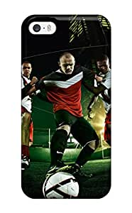 Jose de la Barra's Shop New Style Tpu Case Cover For Iphone 5/5s Strong Protect Case - Football Design 6314178K58860942