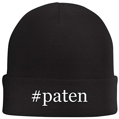 Tracy Gifts #Paten - Hashtag Beanie Skull Cap with Fleece Liner, Black, One Size (The Best Of Pastor Manning)