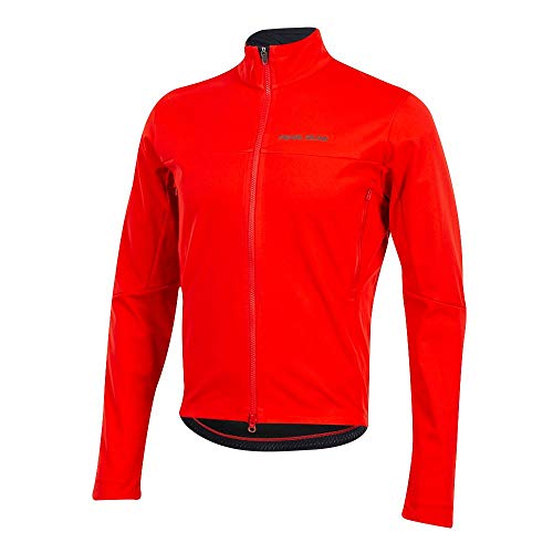 Pearl iZUMi Men's Interval AmFIB Cycling Jacket, Torch Red, ()