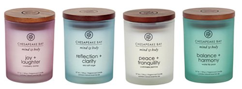Chesapeake Bay Candle Mind & Body Small Scented Candle Gift...