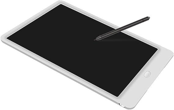 タブレットを描くスクリーンロックボタンの子供の12インチLCDの手書き板、白い