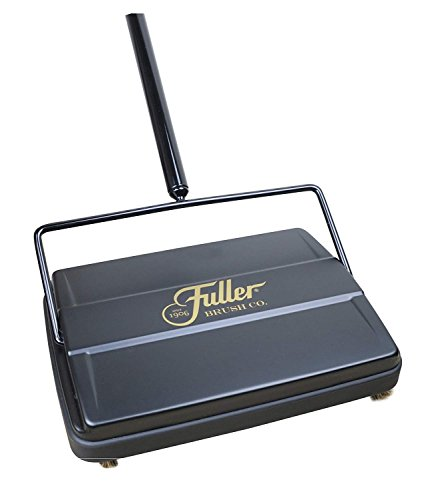 "Fuller Brush 17027 Electrostatic Carpet & Floor Sweeper - 9"" Cleaning Path - Black"