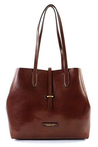 The Bridge Dalston Shopper Borsa tote pelle 32 cm Marrone