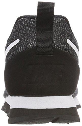 Black Gunsmoke Gymnastikschuhe White MD Runner Herren Nike 2 Grau Eng 004 Mesh 7v8zwq