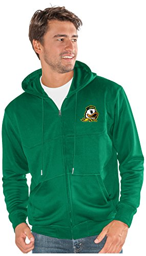 G-III Sports NCAA Oregon Ducks Men's Cadence Full Zip Hoody, 6X-Large, Green -