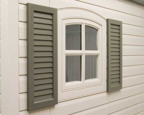 24in Storage Shed Shutters Kit - 8 And 11 Ft Sheds