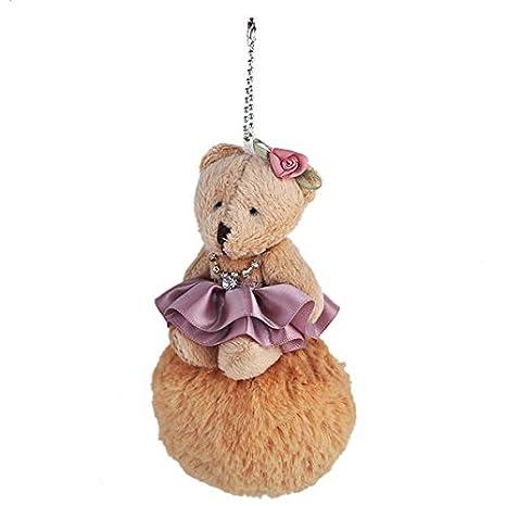 Amazon.com: Rarido - Llavero con diseño de oso peluche, para ...