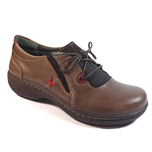 Laura MARRÓN 11871 AZAÑA Marrón Zapatos fBSqOwS