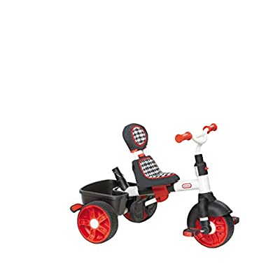 Little Tikes 4-in-1 Trike Ride On, Red/White, Sports Edition: Toys & Games