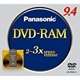 Panasonic LM-HB94LU 9.4GB DVR Double Sided Disc