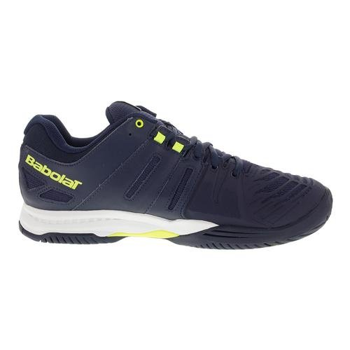 Babolat Tennisschuhe SFX ALL COURT MEN, bleu/jaune/fluo