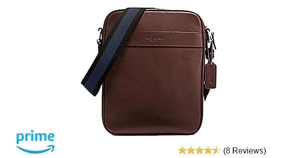Amazon.com  Coach Men s Flight Bag Smith Leather Crossbody Bag F54782  Mahogany  Electronics 4f7875ae08404