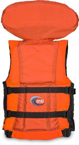 MTI Adventurewear Youth Canyon V Rafting PFD (Orange, Youth Size/50-90-Pound)