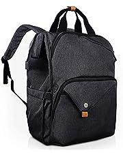 Hap Tim Laptop Backpack 15.6 14 13.3 Inch Laptop Bag Travel Backpack For Women Men Waterproof School Computer Bag Large Capacity Bookbag For College Travel Business 15.6 inches (P-7651SG-DG)