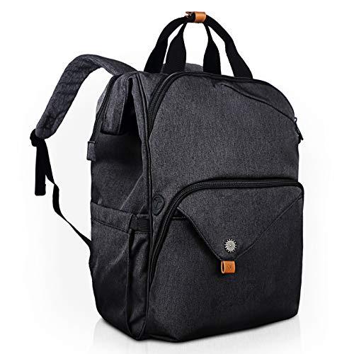 Hap Tim Laptop Backpack 15.6/14/13.3 Inch Laptop Bag Travel Backpack for Women/Men Waterproof School Computer Bag Large Capacity Bookbag for College/Travel/Business (7651US-DG)