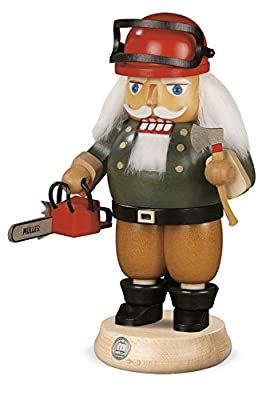 NEW Nutcracker Lumberjack with chainsaw, 14x23cm