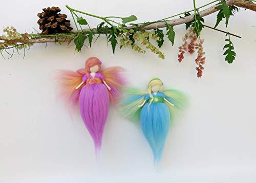 Fairy Kit for Girls, Fairy Craft Kit, Waldorf Kit for Girls from TelePele-World of Fairies