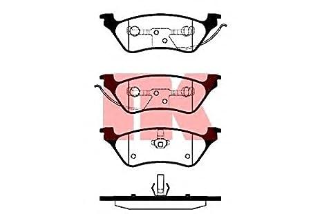 ATE 13.0460-8008.2 Bremsbelagsatz Scheibenbremse